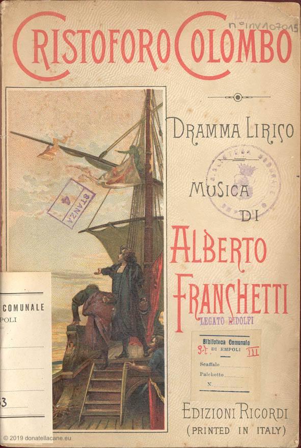 Il libretto dell'opera