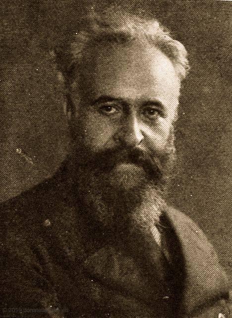 Il M. Franchetti in tarda età.